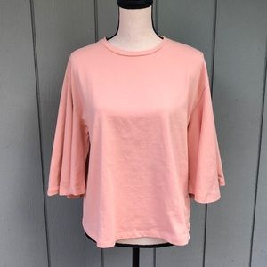 Who What Wear Bell Sleeve Tee